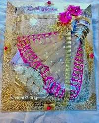 Saree Tray Decoration Amazing How To Do Saree Packing Decoration At Home Saree Guide
