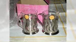 Новый <b>набор</b> из 2-х <b>стаканов с подстаканниками</b> купить в ...