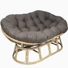 pampasan chair. Gray Double Papasan Chair Cushion Pampasan