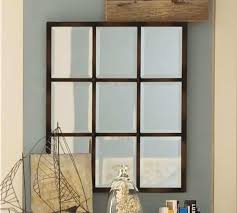 window pane wall decor awesome eagan multi panel small mirror