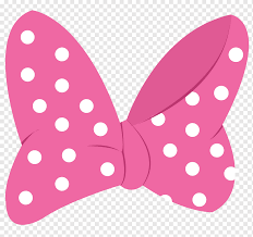 Pink and white polka-dot Minnie Mouse bow illustration, Minnie Mouse Mickey  Mouse Goofy, minnie mouse, mouse, necktie, cartoon png