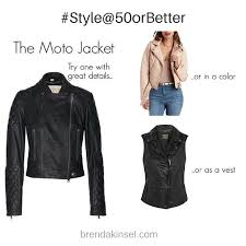 when a leather moto jacket is just right