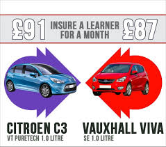 learner driver insurance quote here citroen c3 vs a vauxhall viva