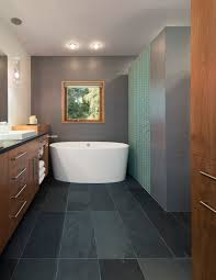 Slate Floors In Kitchen Black Slate Bathroom Tile