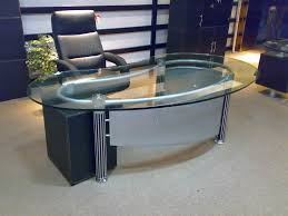 office table glass. Contemporary Glass Glass Office Table Clear In S