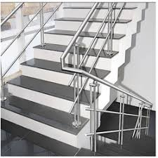 Stainless Steel Staircase