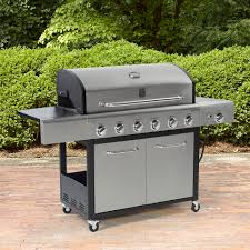 kenmore 6 burner gas grill. kenmore 6 burner lp gas grill with side and stainless steel lid **limited availability** e