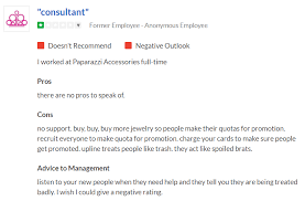 is paparazzi jewelry a scam negative review your revenue