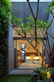 is an early Peranakan shophouse that has been just recently renovated into  a contemporary family home by ONG&ONG in Singapore.