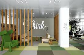 colorful office space interior design. Charming Graffiti Clad Creative Office Space Minimalist Colorful Interior Design .