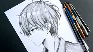 This anime drawing tutorial is just an encouragement for my viewers and lovely subscribers that you don't have to buy all b to 8b graphites just to make drawings. How To Draw Anime Boy In Side View Anime Drawing Tutorial For Beginners Youtube