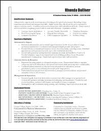 business admin resume business administration resume samples foodcity me