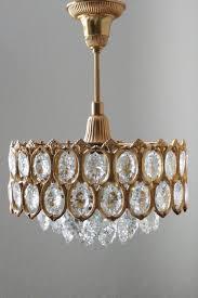 Wunderschöne Vintage Decke Licht Kronleuchter Deutschland 1960er Jahre