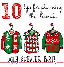 Are you planning an Ugly Christmas Sweater Party this year? Then you have  to check