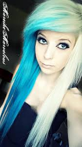 ♥ Mareike Marvelous ♥ | Blonde and blue hair, Dying hair, Pretty hairstyles