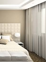 sheer white bedroom curtains. Bedroom Design With White Sheer Curtains And Drapes H