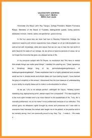 Exelent Valedictorian Speech Examples Photos - Administrative ...