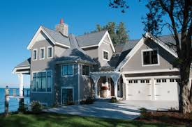 Sloping Lot Plans   Houseplans comSignature Traditional Exterior   Front Elevation Plan       Houseplans com