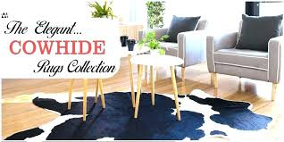 zebra cowhide rug rugs give your home an authentic rustic look faux print zebra hide rug