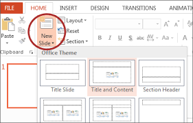 How To Prepare Slides For Ppt Microsoft Powerpoint 2013 Windows