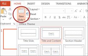 Powerpoint Create Slide Template Microsoft Powerpoint 2013 Windows
