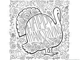 Printable Turkey Coloring Page Thanksgiving Coloring Sheets Black
