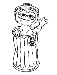 Free Printable Sesame Street Coloring Pages Related Post Characters