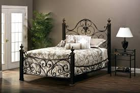 Rustic Metal Headboards Cast Iron Queen Bed Frame Rustic Metal ...