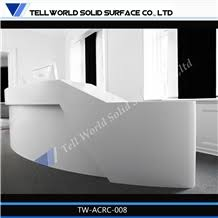 Contemporary office reception Entrance Acrylic Solid Surface Contemporary Office Reception Desk Front Stand Desk For Sale Stonecontactcom Acrylic Solid Surface Contemporary Office Reception Desk Front Stand