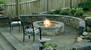 fire pit seating area outdoor ideas 2