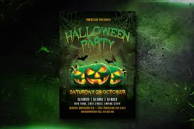 Halloween Party Flyer 1