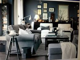 lighting a large room. ikea living room light bluegrey large ottoman lighting a