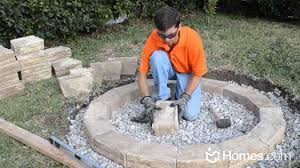 Homes.com DIY Experts Share How-to Build an Outdoor Fire Pit - YouTube