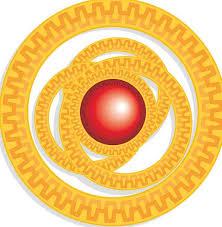 Animation Circles Red Bloodshot Animation Orange Carroty Cartoon Circles