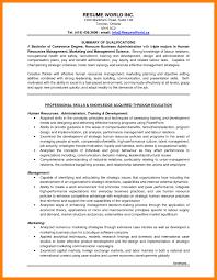7 Entry Level Hr Resume Entry Level Marketing Resume Samples