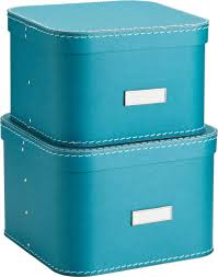 home office storage boxes. Pretty Blue Storage Boxes Oskar Home Office