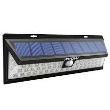 mpow 54 led solar lights outdoor waterproof solar power lights for garden patio