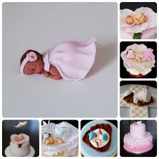 How To Make A Fondant Baby Cake Topper With A Mold