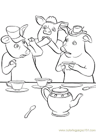 Small Picture Shrek3 7 Coloring Page Free Shrek Coloring Pages