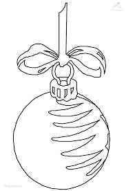Christmas Ornament Drawing Free Printable Christmas