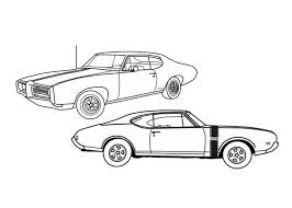 Small Picture Muscle Car Coloring Pages 26460 Bestofcoloringcom