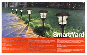 Smartyard Small Led Pathway Lights 6 Pack Smartyard Led Solar Pathway Lights 6 Pack