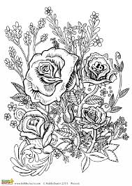 Small Picture Four free flower coloring pages for adults Flower designs