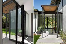 extraordinary houses with glass front doors