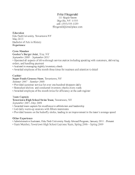 Example Resume Waitress Examples Of Resumes