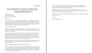 Cover Letter Through Email Sending Resume And Cover Letter Via Email