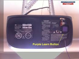 garage door openers learn ons color difference genie garage door opener no learn on