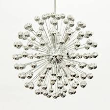 spectacular 128 arm chrome sputnik chandelier at 1stdibs chrome sputnik chandelier