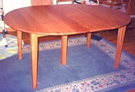 solid cherry shaker dining table