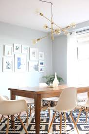 best ideas of mid century modern dining room with west elm mobile chandelier about west elm dining